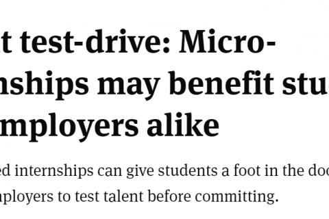 Micro internships