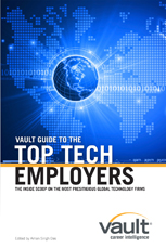 Vault Guide to the Top Tech Employers
