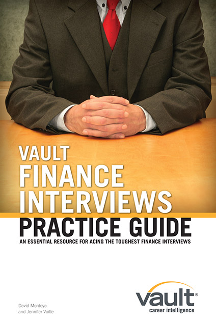 Vault Finance Interviews Practice Guide