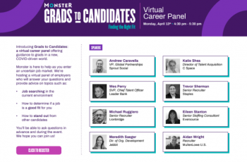 Grads to Candidates - Hosted by Monster