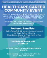 UCD: Healthcare Career Community Event