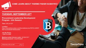 Thermo Fisher Procurement Leadership Development Program Info Session