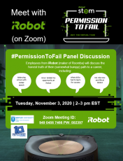iRobot Permission to Fail Panel