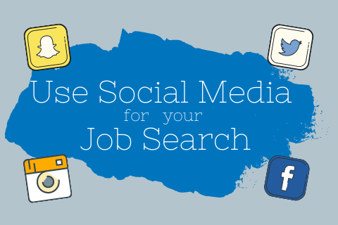 Use Social Media for you Job search title
