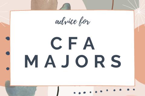 advice for CFA majors