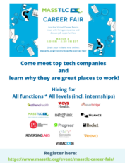 Massachusetts Technology Leadership Council Career Fair!