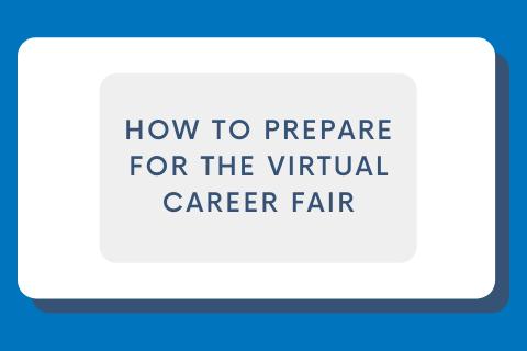 How to Prepare for a Virtual Career Fair Blog Cover