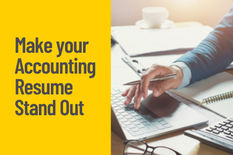 Make your Accounting Resume Stand Out Blog Cover