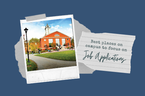 Places on Campus for Applications Blog Cover