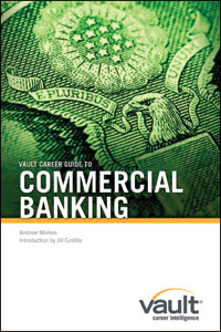 Vault Career Guide to Commercial Banking