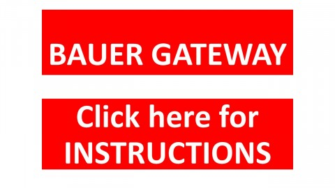 Gateway Instructions Sheet