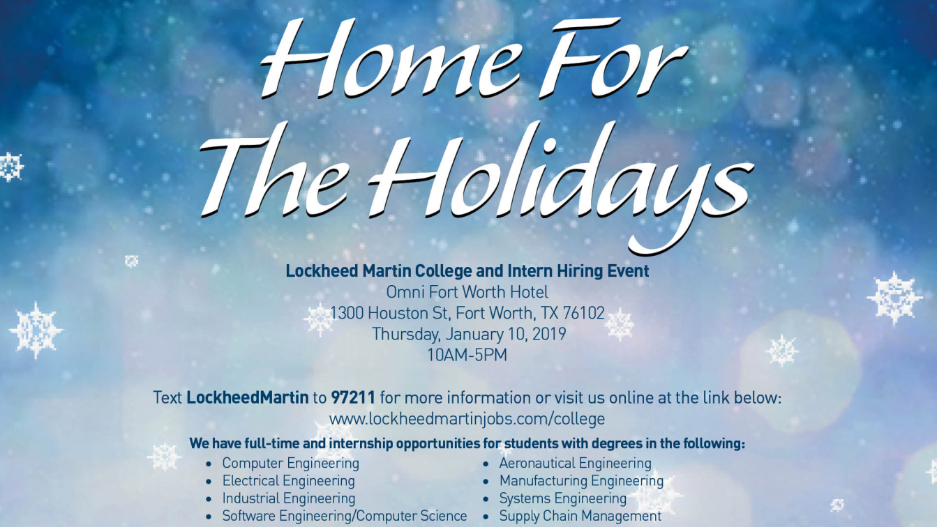 Lockheed Martin College Intern Hiring Event Rockwell Career