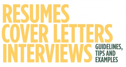 resumes cover letters and interviewing