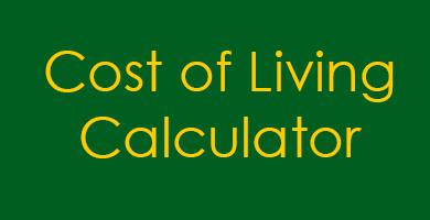 Cost of Living Calculator