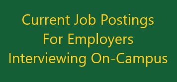 Employers Interviewing On-Campus