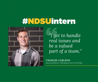 Charles #NDSUintern Spotlight