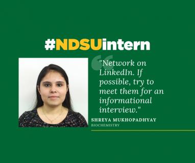 Shreya #NDSUintern Spotlight