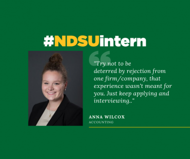 Anna Wilcox #NDSUintern Spotlight