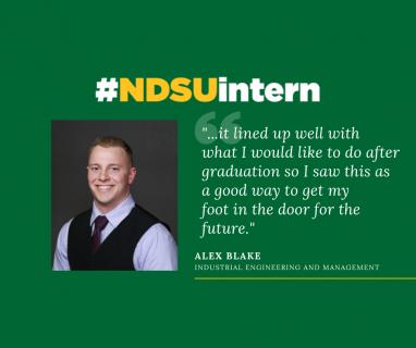 Alex Blake #NDSUintern Spotlight