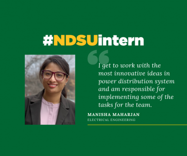Manisha #NDSUintern Spotlight