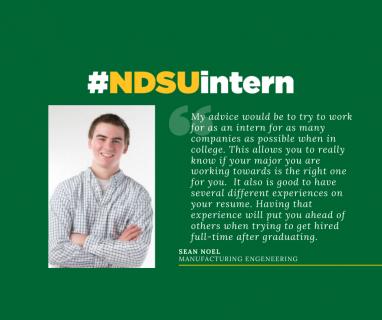 #NDSUintern Spotlight – Sean Noel