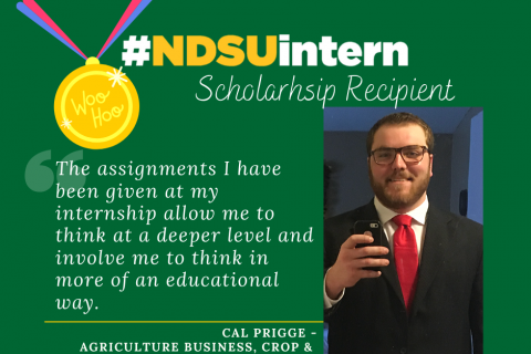 Copy of Copy of #NDSUintern Spotlight
