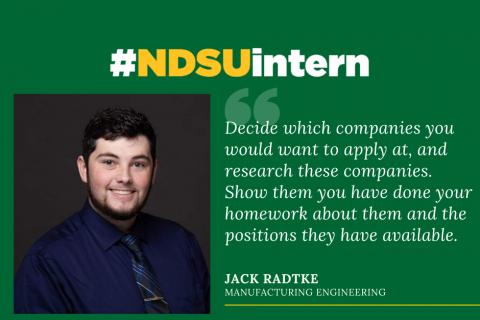 Jack Radtke #NDSUintern Spotlight