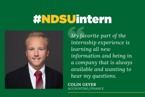 Colin Geyer #NDSUintern Spotlight