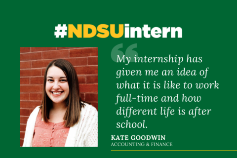 Kate Goodwin #NDSUintern Spotlight