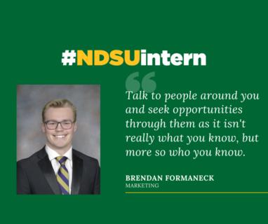 Brendan #NDSUintern Spotlight
