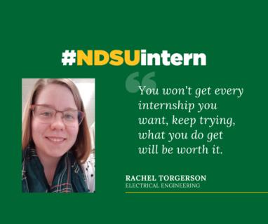Rachel #NDSUintern Spotlight (1)