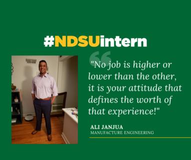 Ali J #NDSUintern Spotlight