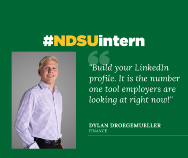 Dylan #NDSUintern Spotlight