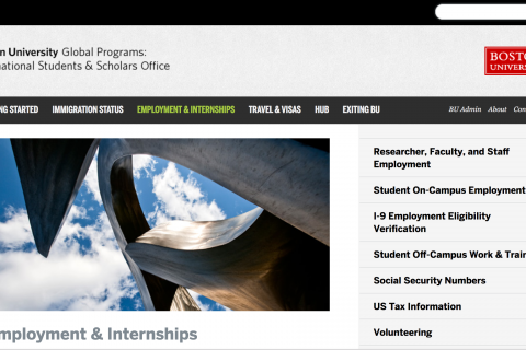 BU – Hiring/Recruiting International Students