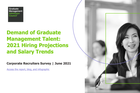 Demand of Graduate Management Talent: 2021 Hiring Projections and Salary Trends – GMAC 2021