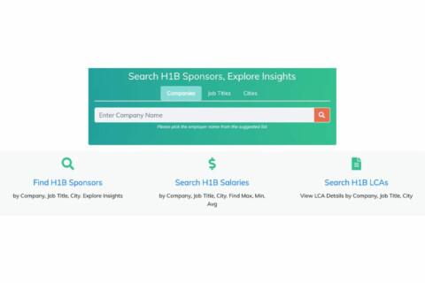 Search Companies that Sponsor (H1B Visas) International Students
