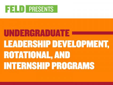Undergraduate Leadership and Development Programs