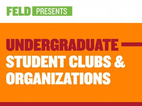 Undergraduate Student Clubs & Organizations
