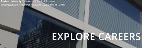 UDC – Career Exploration