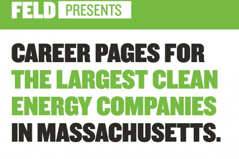 CAREER PAGES FOR THE LARGEST CLEAN ENERGY COMPANIES IN MASSACHUSETTS