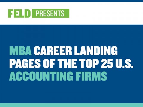 MBA Career Landing Pages of the Top 25 U.S. Accounting Firms