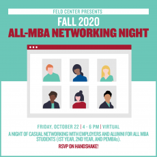 Questrom- Fall 2020 All MBA Networking Night (Virtual)