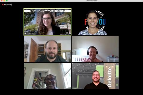 MBA Launch – Recruiter Panel 1