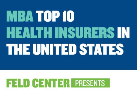 MBA Top 10 Health Insurers
