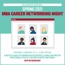 Questrom - Spring 2021 MBA Networking Night (Virtual)