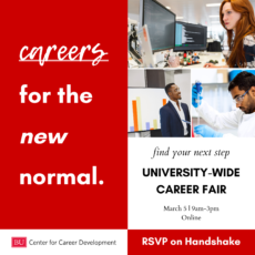 University-wide Virtual Career Fair Spring 2021