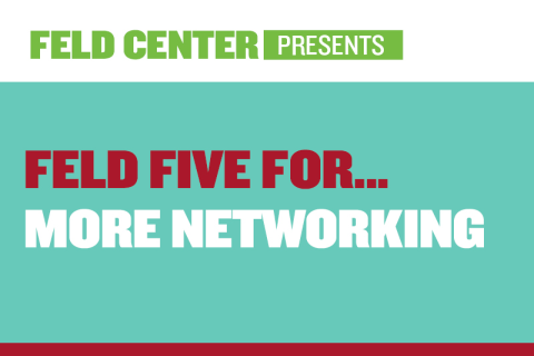 Feld Five For… More Networking