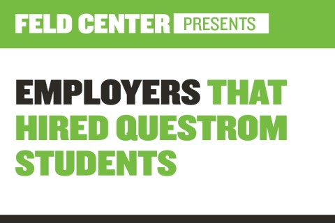 Employers That Hired Questrom Students