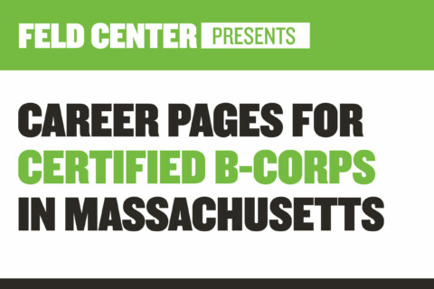 Career Landing Pages of Certified B-Corporations in Massachusetts