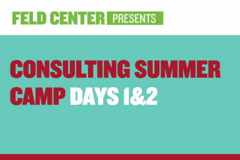 Consulting Summer Camp: Days 1 & 2